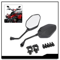 New 7/8 Motorcycle Rearview Side Mirrors Handle Bars set For Polaris 850 Touring