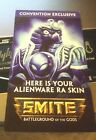 SMITE Exclusive Alienware Ra Skin Card Code PC Only