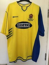 DAGENHAM & REDBRIDGE League 2 PlayOff Finalists Shirt Wembley 2010 Vandanel L/XL