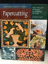Papercutting Tips Tools & Techniques Claudia Hopf Art Technique Instruction Book