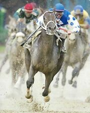 SMARTY JONES 8X10 PHOTO HORSE RACING PICTURE JOCKEY