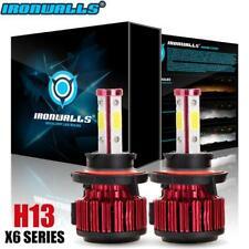 IRONWALLS H13 9008 2500W 375000LM CREE LED Headlight Bulb HID Hi/Lo Beam 6000K