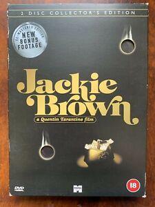 Jackie Brown DVD 1997 Elmore Leonard TarantinoMovie 2 Disc Spec Ed w/ Slipcover