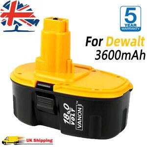 18V 3.6Ah Battery FOR DeWALT 18 VOLT XRP DC9096 DE9095 DE9098 DC988KA UK Stock