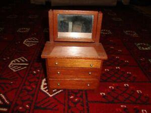 small vintage/antique doll dresser