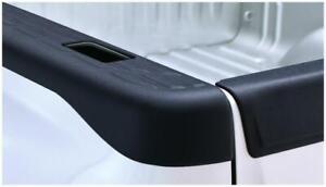 Bushwacker Fleetside Bed Rail Caps Pair Black (49525) for 07-13 GMC Sierra 1500