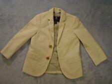 Crewcuts J Crew Boys Seersucker Blazer Summer Jacket Gray & White Size 4