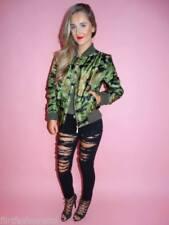 Abrigos y chaquetas de mujer sin marca color principal verde