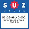 56126-98L40-000 Suzuki Washer,prop sft brg hsg(t:2.3) 5612698L40000, New Genuine