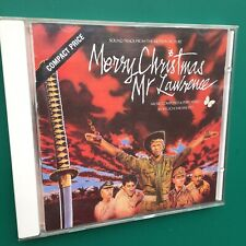 David Bowie MERRY CHRISTMAS MR LAWRENCE Film Soundtrack OST CD Ryuichi Sakamoto