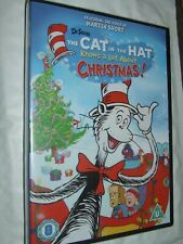 The Cat in the Hat Knows a Lot About Christmas DVD NEW & SEALED