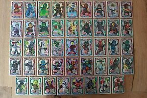 LEGO ninjago™ Series 2 Super Mega Glitter Cards Choose