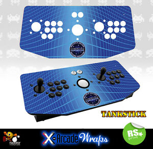 Mame V2 X Arcade Artwork Tankstick Overlay Graphic Sticker