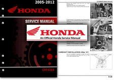 Honda CRF450X 2005 to 2012 Service Workshop Repair Shop Manual CRF 450 X CRF450