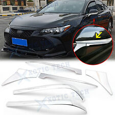 6x Chrome Rearview Side Mirror Cover Molding Trim Kit For Toyota Camry 2018-2020