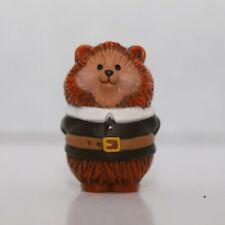 Hallmark Merry Miniatures - 1984- Thanksgiving Pilgrim Hedgehog