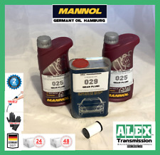Audi A1,A3,Q3 oil set in mechatronic and inside in gearbox DQ200