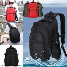 Men Durable Backpack Rucksack Sports Travel Hiking Work School Bags UK