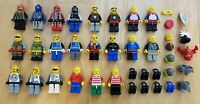 Vintage Classic LEGO Space Minifigure Lot Exploriens Roboforce Spyrius Castle
