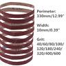 330x10mm Abrasive Sanding Belts 40-600 Coarse Grinding Belt Grinder Accessories