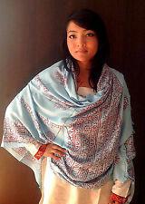 Large Om Prayer Shawl with Fringes-High Quality Cotton Prayer Shawl Scarf