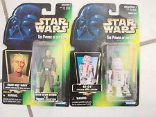 Star Wars Action Figure lot of 2 TPOF Grand Moff Tarkin and R5-D4 new
