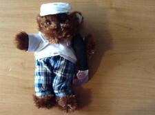 New 8-10 Inch Soft BrownTeddy Bear dress*Golfer Outfit*+Accessories Complete #60