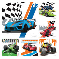 Hot Wheels Stickers x 6 - Birthday Party Supplies Favours Loot Hot Wheels Cars