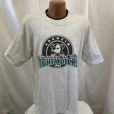 Vintage 90s Anaheim Mighty Ducks T-shirt adult XL 1993 vtg nhl hockey inaugural