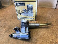 KRAFT .61 R/C Model Airplane Engine & Muffler