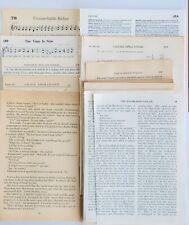 Junk Journal Supplies, Vintage Paper Book Pages, Scrapbooking Vintage Book Pages