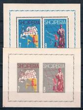 Albanien EUROPA 1962, Bl. gez.+ geschn. (Mi.: 120,00€)  postfr.**