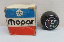 NOS Factory OEM MOPAR 4-spd O/D Manual Transmission Gear Shift Knob 1977-1978