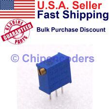 1510pcs Bourns 3296x 1 200lf 20 Ohm Multiturn Trimmer Resistor Potentiometer