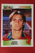 Panini EURO 96 N. 310 JOAO PINTO PORTUGAL New With BLACK back TOPMINT!!