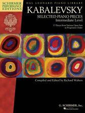 Kabalevsky Selected Piano Pieces Intermediate Level Schirmer New 000297111