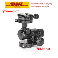SunwayFoto GH-PRO II Geared Head Panoramic Tripod Head for DSLR Camera Panorama