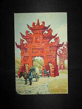 ancien menu Champagne Charles Heidsieck Chine 1930 début XX ème