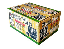 Wildlife Sciences 240 Wild Bird Suet Plus Cakes, Food for Birds, Pack of 10