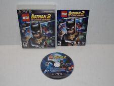 LEGO Batman 2 DC Super Heroes Sony PlayStation 3 2012 Video Game Disc Case