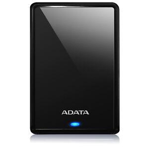 """ADATA HV620S BLACK 1TB 2.5"""" HDD 5400RPM Slim & Light External Hard Drive USB 3.1"""