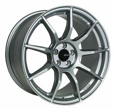 17x8 Enkei TS9 5x114.3 +35 Platinum Grey Rims Fits Civic Accord TL Rsx Tsx