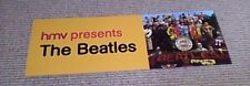 HMV presents THE BEATLES PROMO DISPLAY 1st UK Issue NEW 2017 Sgt Pepper's 50th