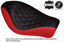 Negro y Rojo B Diamante Custom Para Harley Sportster Low Hierro 883 Solo Cubierta de asiento