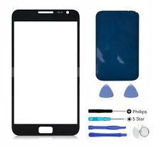 Black front outer glass lens screen Galaxy Note N7000 replacement Adhesive Tools