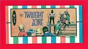 The Twilight Zone #3 Dan Curtis Giveaway Old Mini Comic