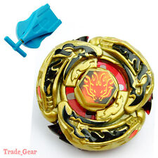 Beyblade GOLD L-DRAGO DESTROY DF105LRF Metal Masters Fusion+Single spin Launcher