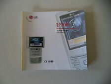 - MANUALE USO ISTRUZIONI - LG U900