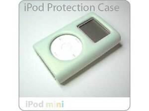 Mini iPod Click Wheel Deluxe HARD GREEN LEATHER Case