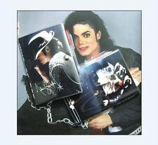 Michael Jackson Billie Jean Style Diary Notebook & Free Pen 1PC